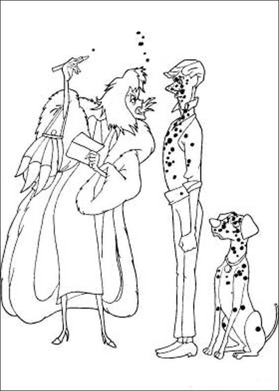 Malvorlagen 101 Dalmatiner (20) ausmalbilder