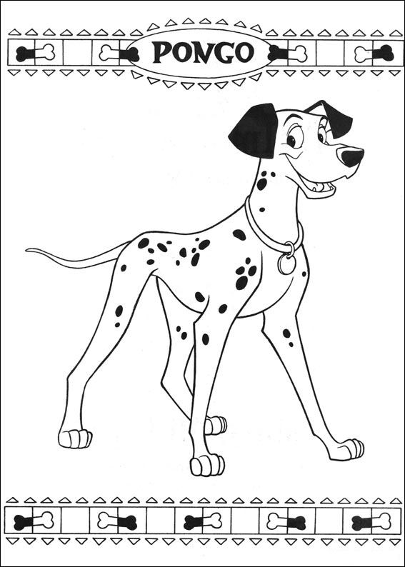 101 Dalmatiers (41) kleurplaat