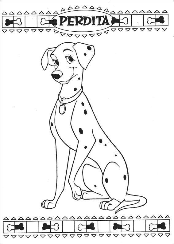 101 Dalmatiers (61) kleurplaat