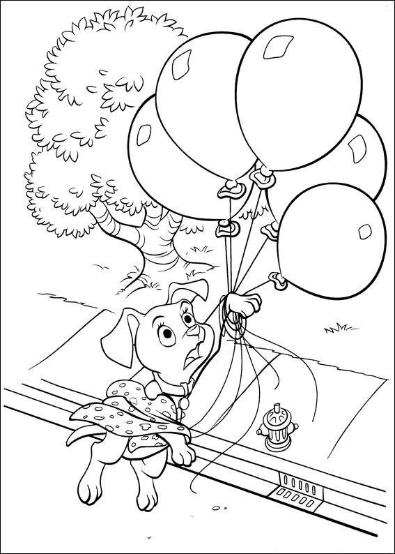 102 Dalmatians (15) coloring page