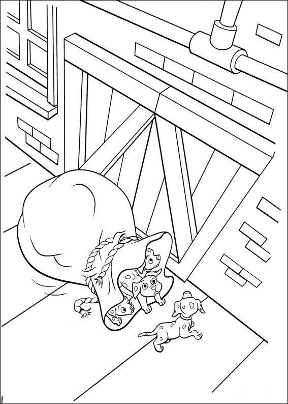 102 Dalmatians (21) coloring page