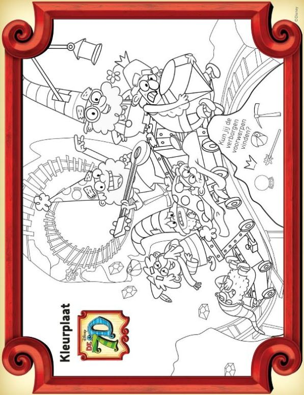 7D coloring page