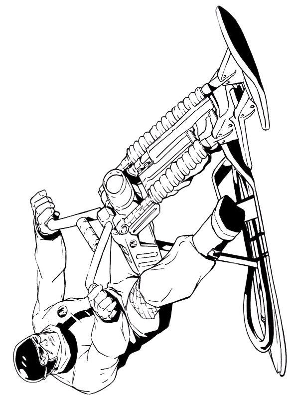 Action Man (6) kleurplaat