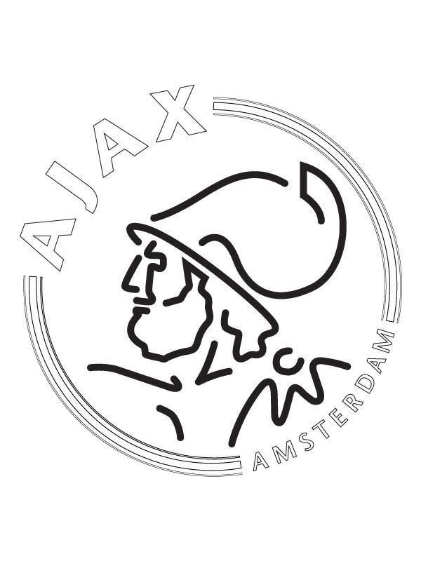 ajax kleurplaat