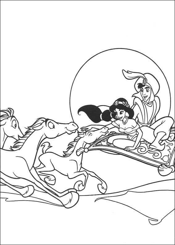 Aladdin (26) kleurplaat