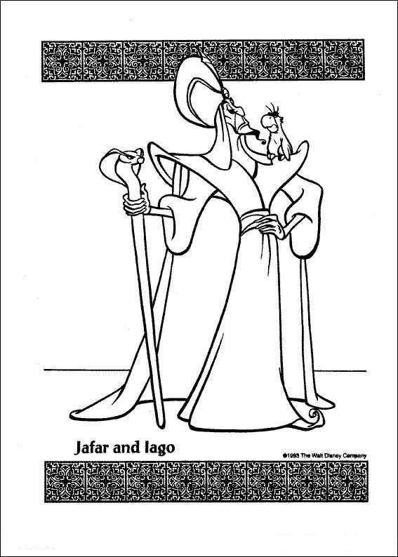 Aladdin (42) kleurplaat