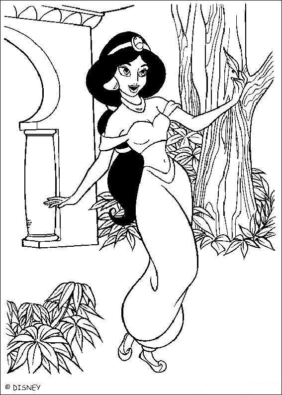 Aladdin (47) kleurplaat