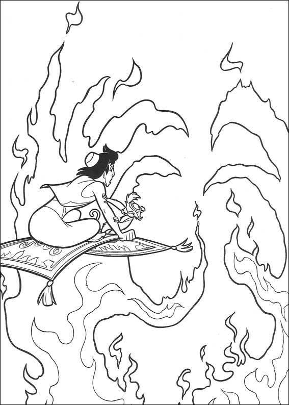 Aladdin (5) kleurplaat