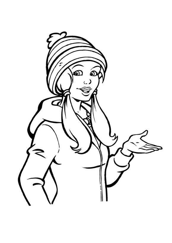 Amika (13) coloring page