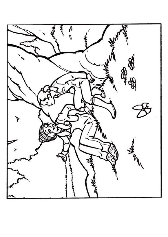 Amika (9) coloring page