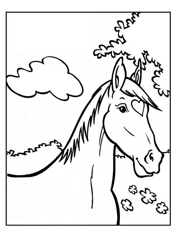 Amika coloring page