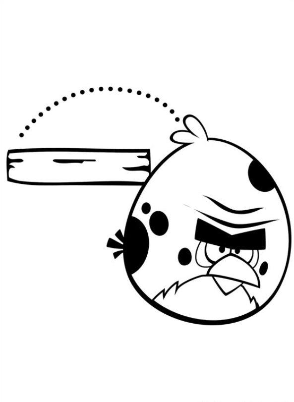 Angry Birds (13) målarbok