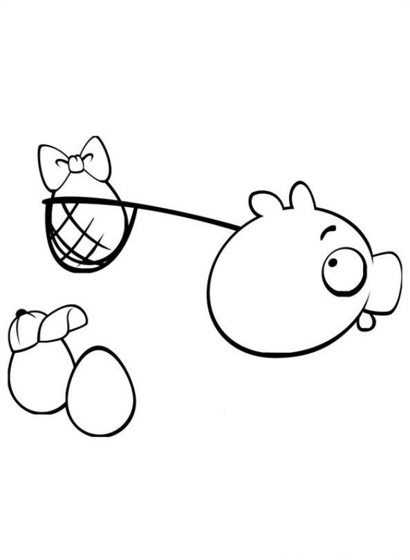 Angry Birds (20) målarbok
