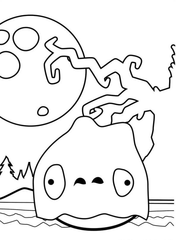 Angry Birds (23) målarbok
