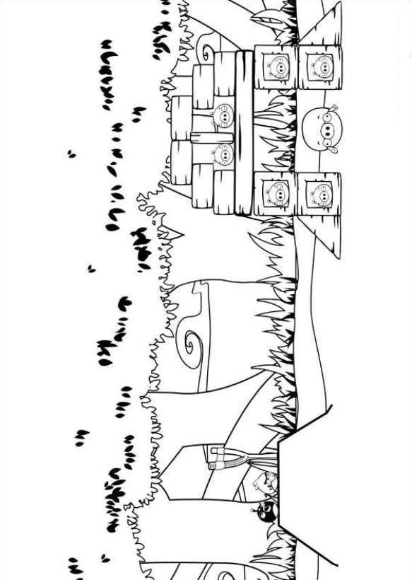 Angry Birds (4) målarbok