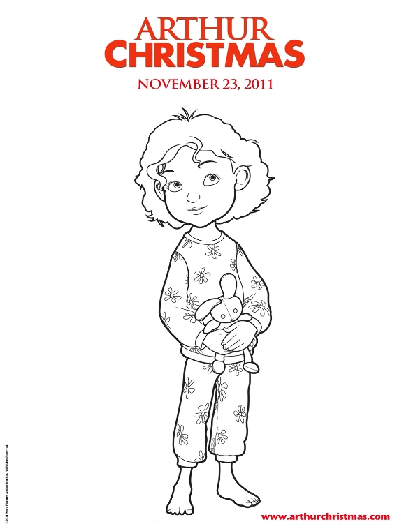 Arthur Christmas (10) coloring page