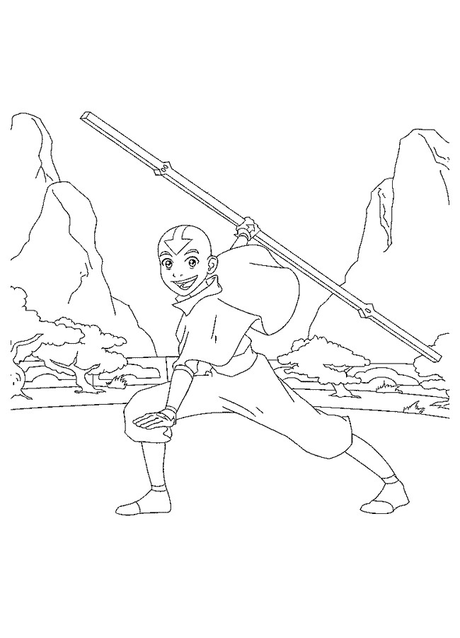Avatar (3) coloring page