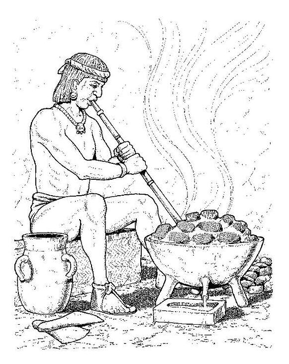 Aztec (9) målarbok