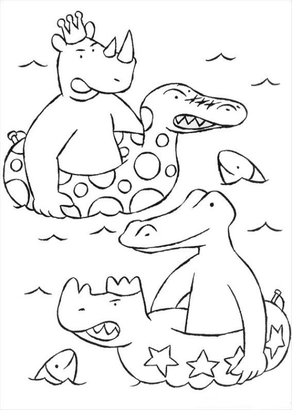 Babar (2) coloring page