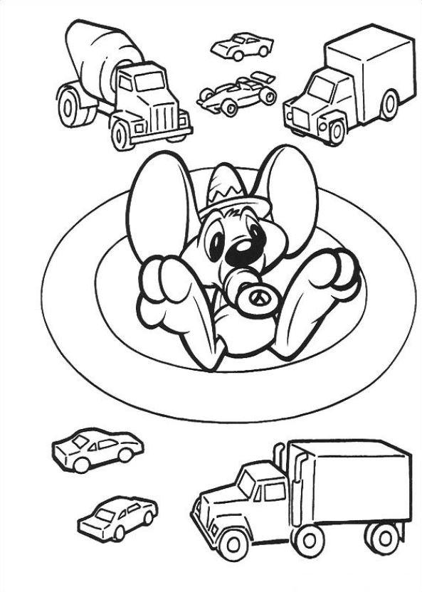 Baby Tunes (11) coloring page