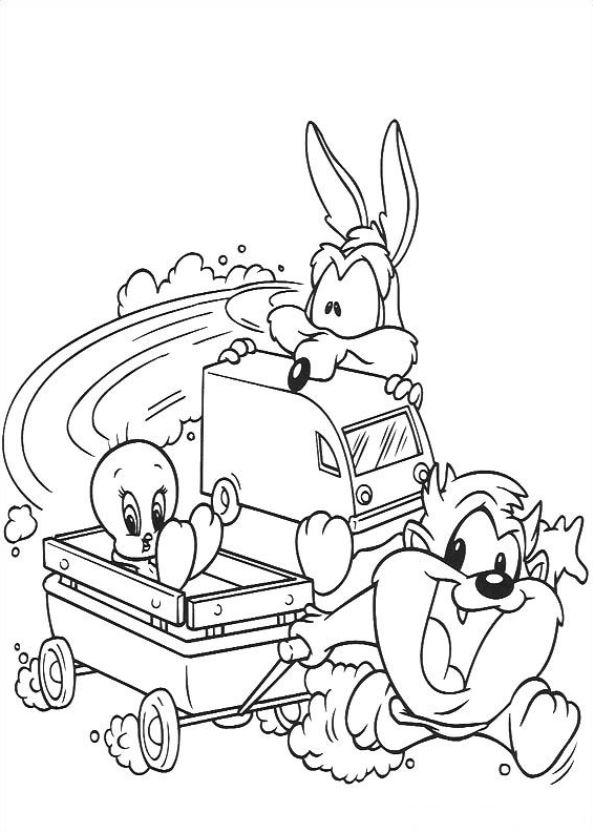 Baby Tunes (19) coloring page