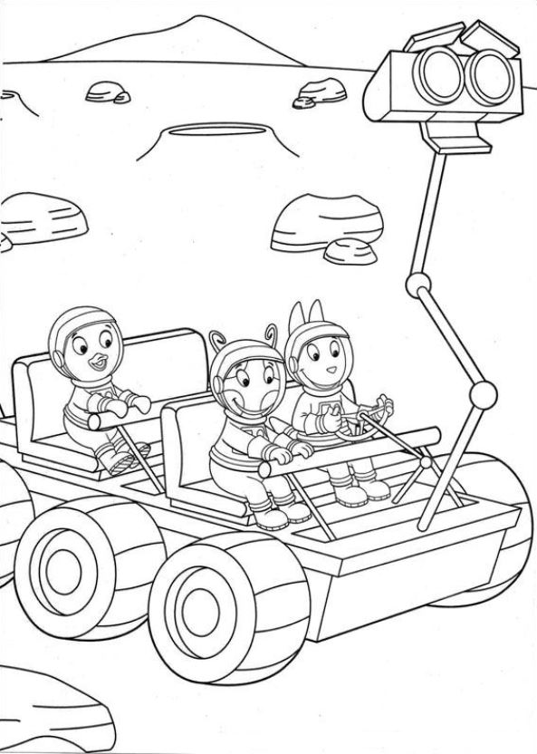 Backyardigans (15) coloring page