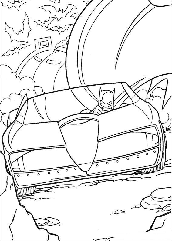 Batman (37) coloring page