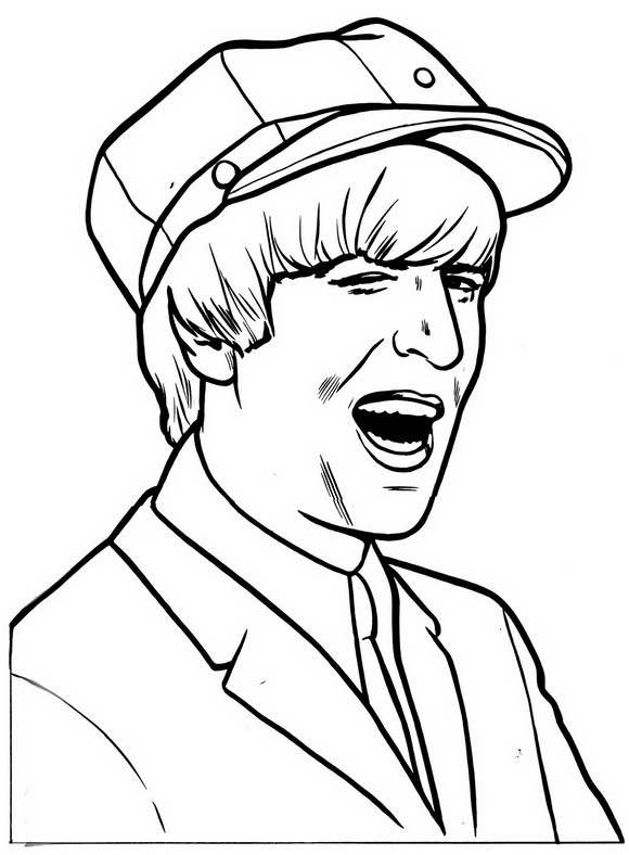 Beatles (8) coloring page