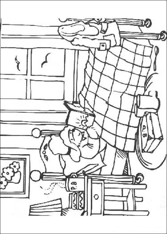 Paddington Bear (5) coloring page