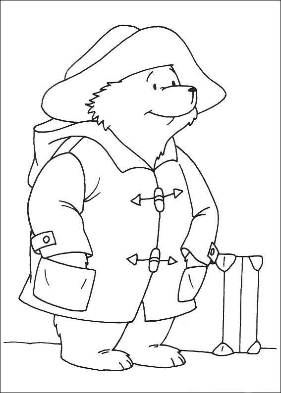 Paddington Bear (6) coloring page