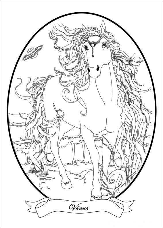 Bella Sara (4) coloring page