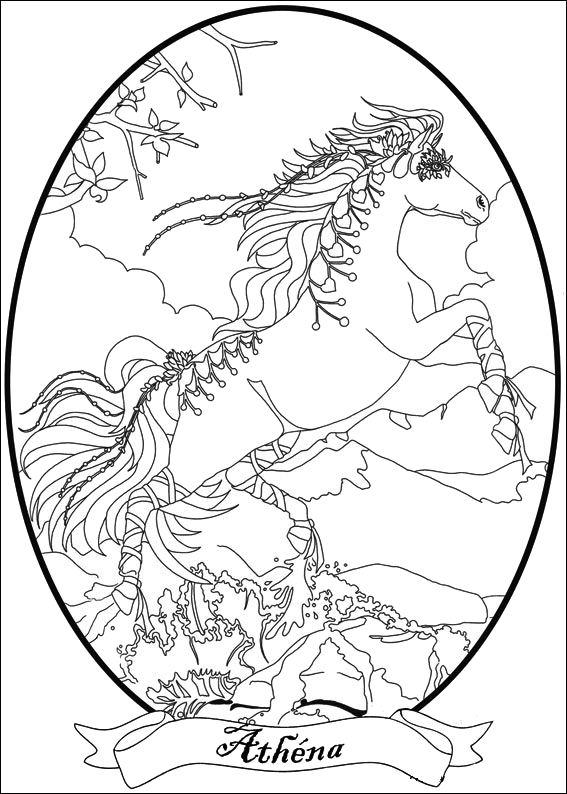 Раскраска Белла Сара (7)
