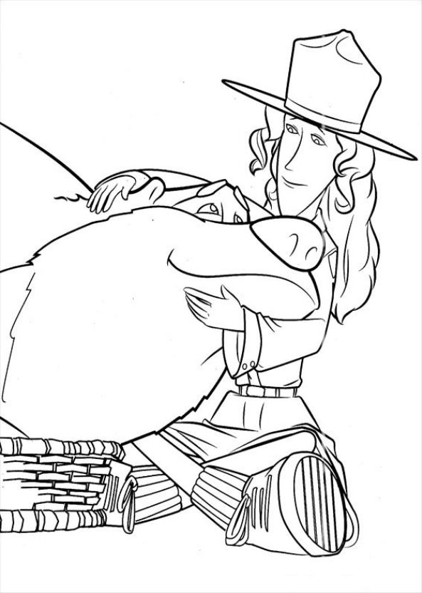 Arc (1) coloring page