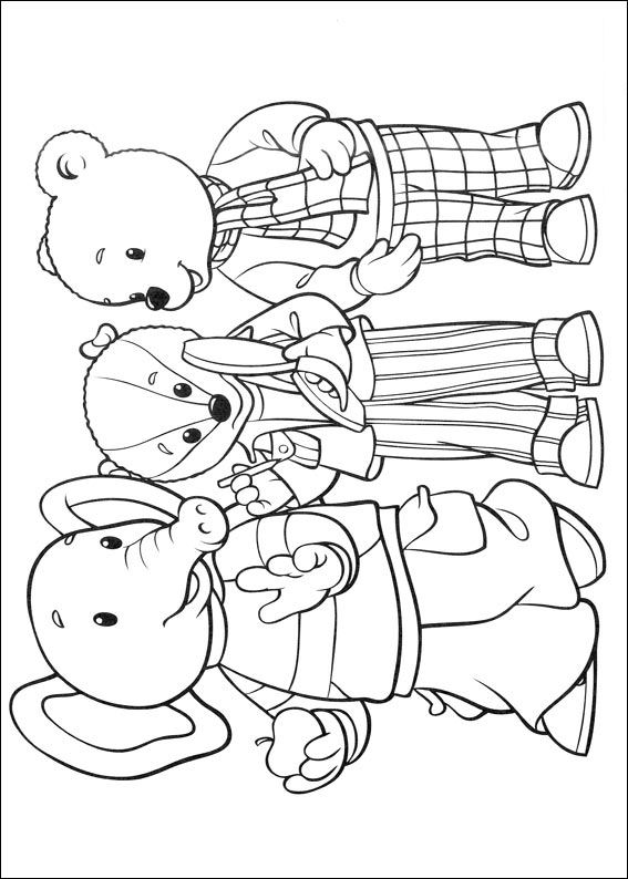 Brown bear (26) coloring page