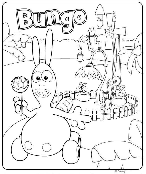 Раскраска Bungo