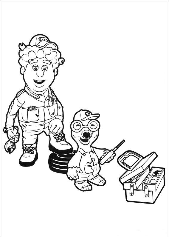 Chris coloring page