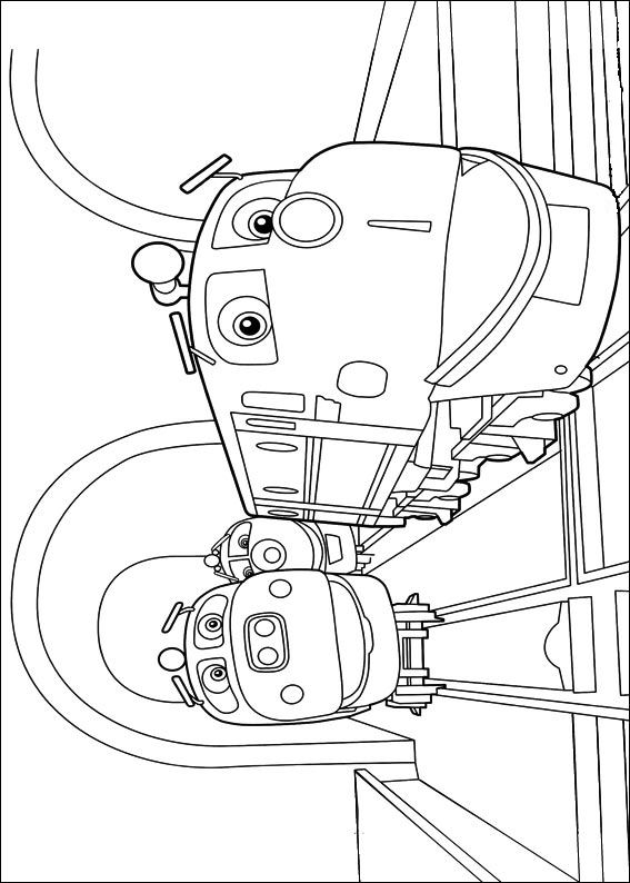 Chuggington (3) coloring page