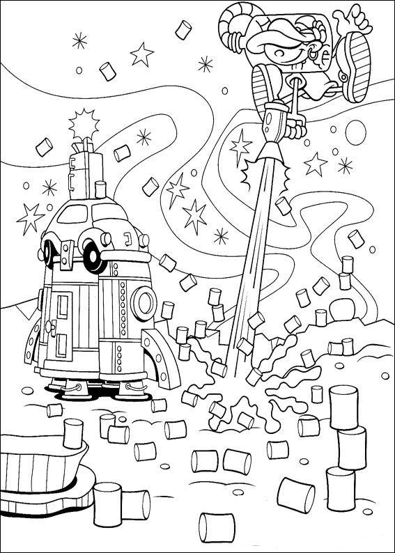 Code name Kids Next Door (26) coloring page