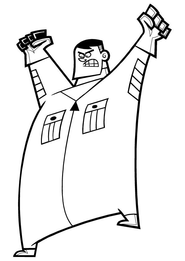 Danny Phantom coloring page