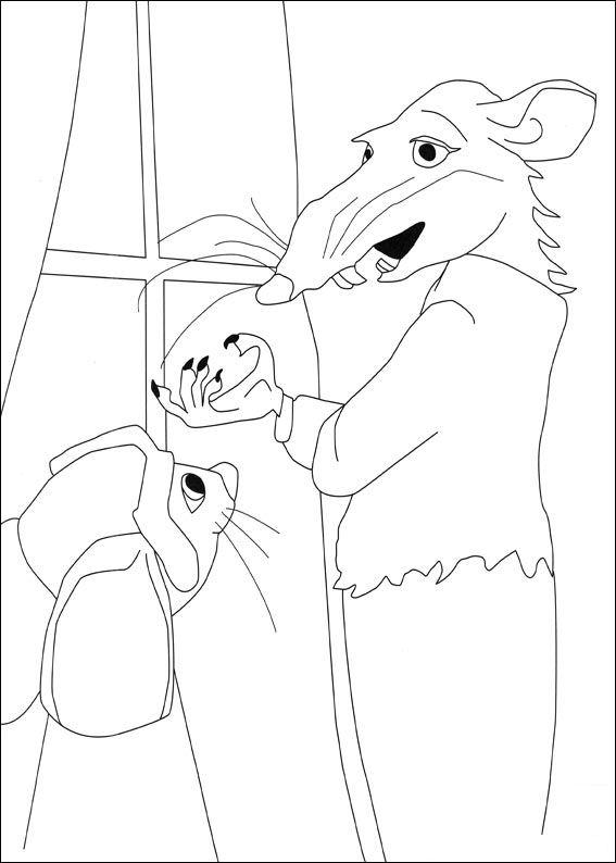 Despereaux (12) kleurplaat