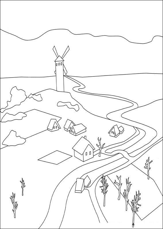 Despereaux (14) kleurplaat