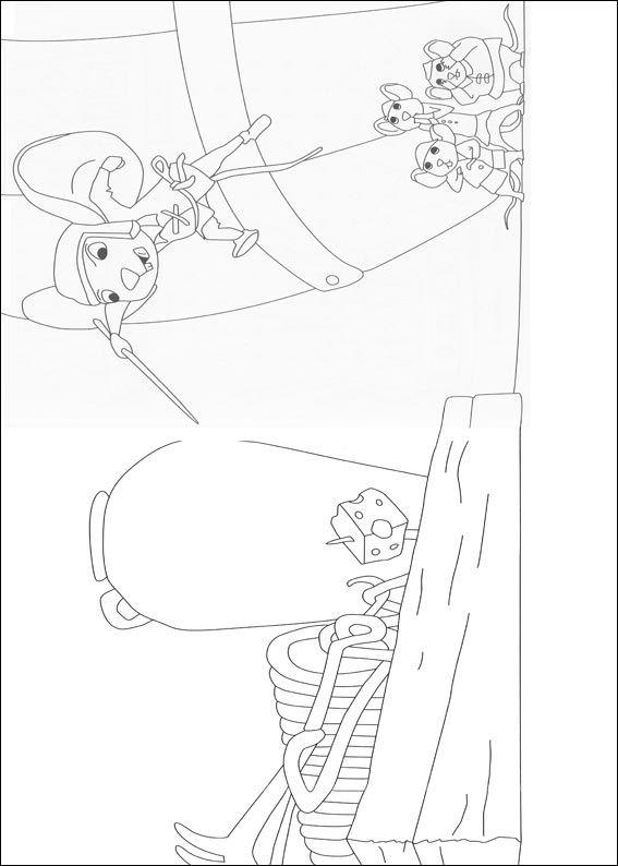 Despereaux (15) kleurplaat