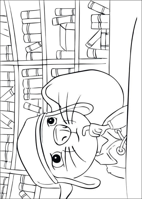Despereaux (3) kleurplaat