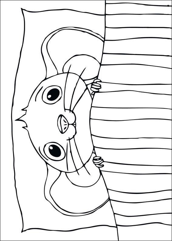 Despereaux kleurplaat