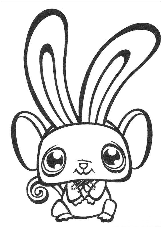 Animal friend (1) coloring page