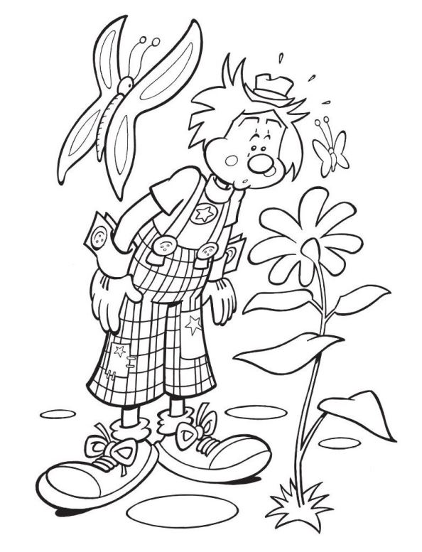 Dobus (13) coloring page