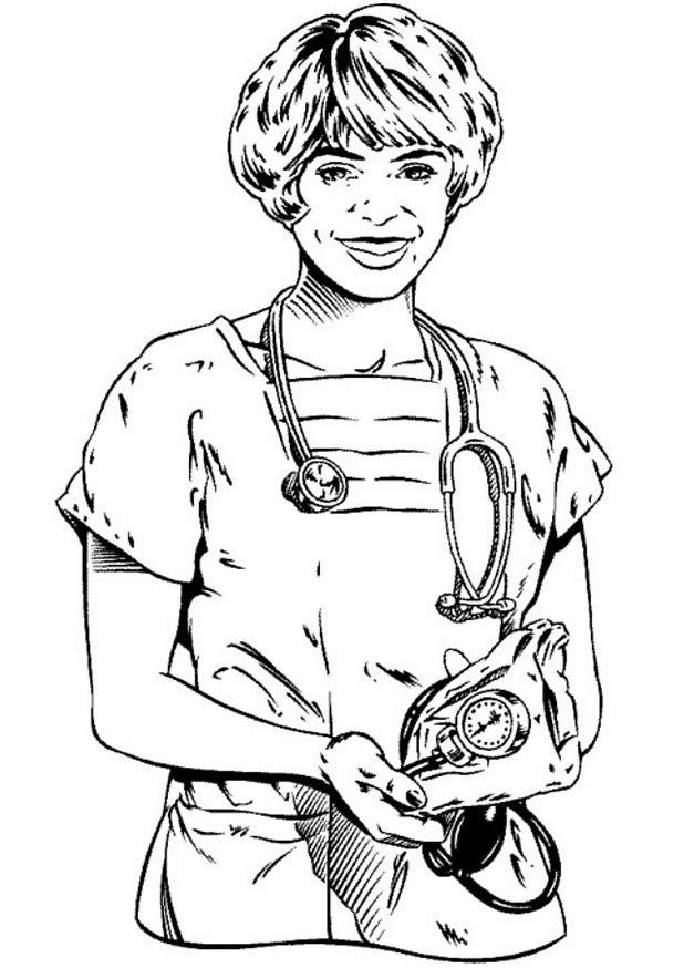 Doctor (1) målarbok