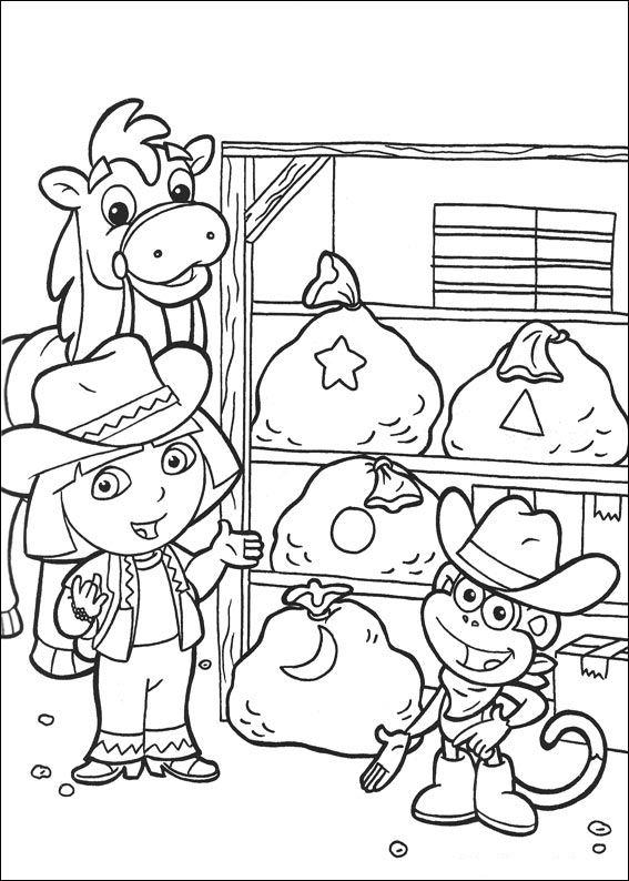 Dora the Explorer 2 (19) coloring page