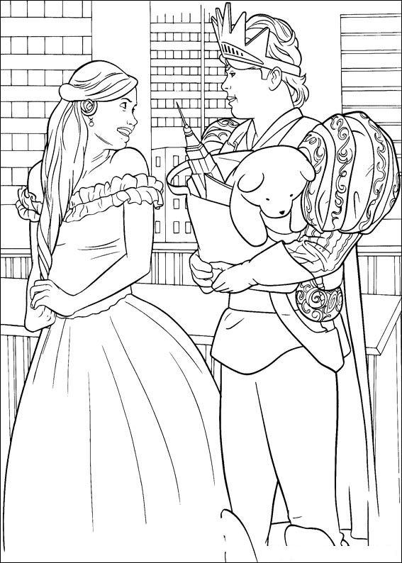 Enchanted (5) coloring page