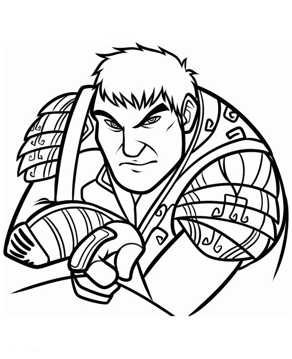 Epic (1) coloring page